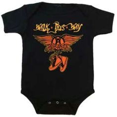 Aerosmith Walk This Way Infant One Piece