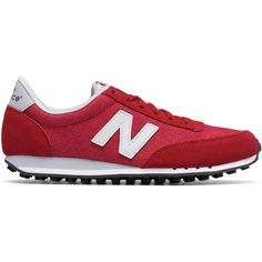 New Balance 410 70s Running Suede Women's Running Classics Shoes ($65) ❤ liked on Polyvore featuring shoes, athletic shoes, new balance, new balance athletic shoes, suede shoes, suede leather shoes and new balance footwear
