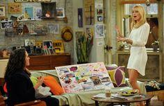 The Lovely Side: Max & Caroline's Apartment | 2 Broke Girls