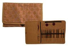 Knitter's Pride Fabric Interchangeable Needle Case - Orient Sheen via Jimmy Beans Wool