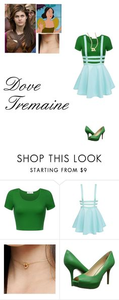 """Dove Tremaine daughter of Drizella Tremaine"" by damack ❤ liked on Polyvore featuring DesignB London, Nine West and ZoÃ« Chicco"