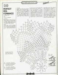 Kira scheme crochet: Scheme crochet no. 1854