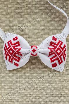 "бабочки галстук-бабочка вышитая  ""радостная"" handmade, ручная робота"