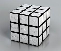 Rubik Braille