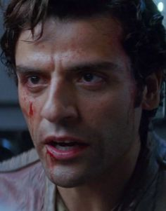 Oscar Isaac as Poe Dameron in Star Wars: The Force Awakens (2015)