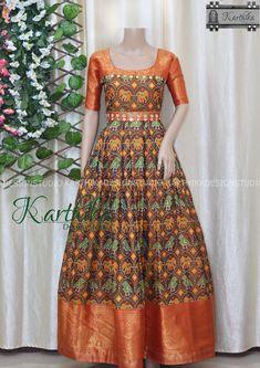 Gown Dress Party Wear, Long Gown Dress, Saree Dress, Long Frock, Sari Blouse Designs, Designer Blouse Patterns, Fancy Blouse Designs, Designer Anarkali Dresses, Designer Dresses
