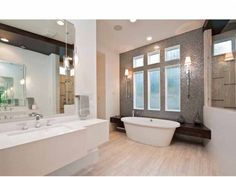 Interior, Master Bathroom