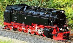 DR Dampflok (Steam locomotive) 99 7222-5