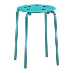 to decorate for the kids in wedding party.   so they don't have to stand. comes in white also. MARIUS Stool - blue - IKEA
