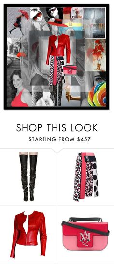 """""""Colorsplash!"""" by flippintickledinc ❤ liked on Polyvore featuring Antonio Marras, Vetements, MSGM, Gucci and Alexander McQueen"""