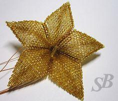 Schema picture tute for petals  ~ Seed Bead Tutorials