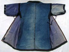 Boro Indigo Noragi Antique Japanese Peasant Coat by FurugiStar, ¥30000