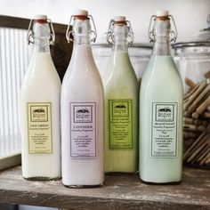 Laundry and Home Products from the Good Home Company - a woman-owned business that manufactures a line of home cleaning products that are luxurious and environmentally friendly.