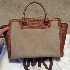 kelly bag hermes - Michael Kors Selby Medium Leather Satchel | Fashion & Accessories ...