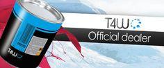 """www.lackon.eu Oficjalny dystrybutor produktów T4W  """"Wszystko dla lakiernika samochodowego""""  Handluj z nami www.t4w.eu"""