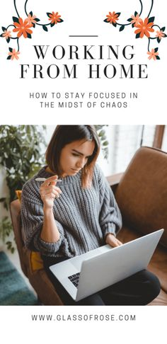 Working From Home: How I Stay Productive Stay Focused, Earn Money, Productivity, About Me Blog, Positivity, Lifestyle, Suddenly, Scary, Blogging