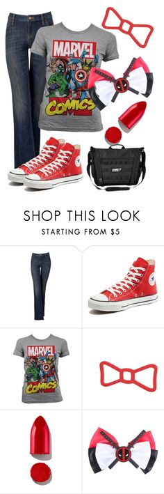 """Bow down"" by csidlo17 ❤ liked on Polyvore featuring Simply Vera, Converse, Marvel Comics, Rodin and Marvel"