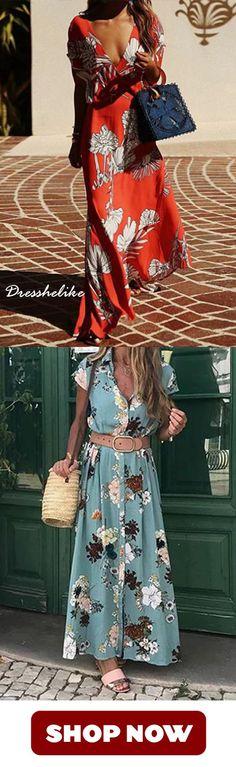Donna Vestito Lino Vestiti Estivi Taglie Forti Estate Vestiti Casual Eleganti Manica Corta Abito V-Collo Cotone E Lino T-Shirt Lunga Vestiti Loose Floral Abito YanHoo