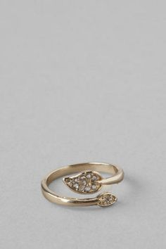 Autumn Wrap Ring from Francesca's