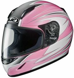 Available from HelmetCity.com, the #HJC_Helmet can brave any #motorcycle riding conditions. The HJC Youth CL-Y Helmet (Razz MC-8) is characterized by bold design and rugged construction.