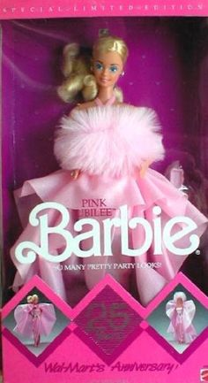 NEW ~ 1987 Pink Jubilee Barbie #4589