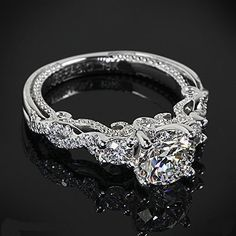 Carat (ctw) Princess Cut Diamond Engagement Rings for women and Wedding Band Set in White Gold – Jewelry & Gifts Verragio Engagement Rings, 3 Stone Engagement Rings, Diamond Wedding Rings, Wedding Engagement, Wedding Bands, Diamond Rings, Solitaire Diamond, Solitaire Rings, Bridal Rings