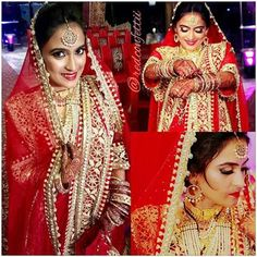 Makeup by Aatika Sajid Hyderabad(india) bride