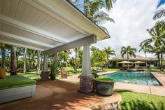 STATS 3 BEDROOMS 3.5 BATHS 2,215 SQ. FT. $29.5 MILLION  A covered lounge area overlooks the swimming pool at Will Smith's former vacation home on the Hawaiian island of Kauai. Contact: Roni Marley of Hawaii Life Real Estate Brokers, 808-652-1006; hawaiilife.com