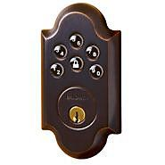 Baldwin Hardware Boulder Z-Wave Electronic Deadbolt - Venetian Bronze Keyless Locks, Electronic Deadbolt, Gadget World, Baldwin Hardware, Keyless Entry, Latest Gadgets, Home Hardware, Door Locks, Entry Doors