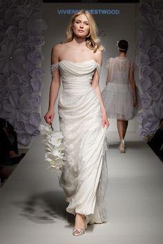 White wedding dress  [Vivienne Westwood]