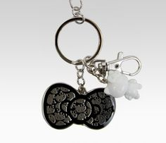 Hello Kitty Key Ring: Bow Monochrome Wed: Fave Bow Pic #SephoraHelloKitty