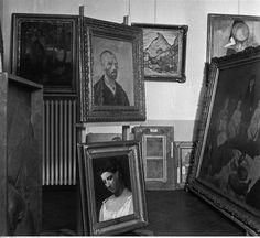 Réunion des Musées Nationaux-Grand Palais - Action art dégénéré. Château Niederschönhausen, Berlin. Oeuvres de Pablo Picasso, Henri Matisse, Vincent van Gogh et autres, 1937