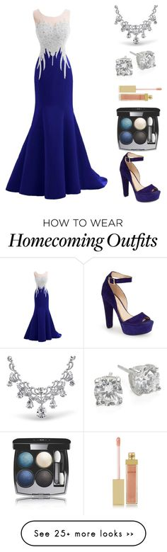 """""""Homecoming"""" by luluthetiger on Polyvore featuring Jessica Simpson, Chanel, AERIN, Bling Jewelry and Crislu"""