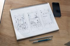 Mobile #Ui #Sketch by Anthony Lagoon