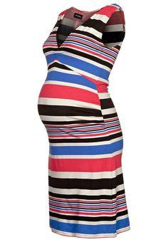 Mama Licious - KATINKA - Vestito premaman - blu - 35,00€ #maternity #maternità