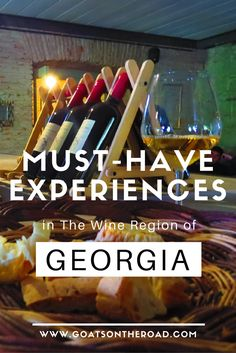 Must-Have Experiences in The Wine Region of Georgia | What To Do In Georgia | Georgia Travel Advice | Georgian Vineyards | Sighnaghi | Bodbe Monastery | Chavchavdze Estate | Best of Georgia | European Travel | Travel Itinerary Europe