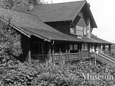 View of St. Michael's Hospital at Rock Bay (1910) Henry Twidle Collection - CR Museum