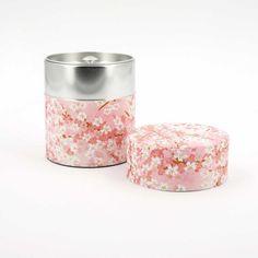 achat vente boîte à thé japonaise rose clair - papier washi fabriquée au Japon