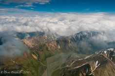 Flying Over Mount McKinley, Unites States | The Planet D