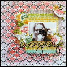 She Art collection , the new Artisan elements by Pink Paislee and Color Magic Paper and Color Shine by Heidi Swapp.