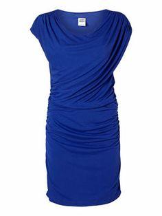 VILLAGE S/L SHORT DRESS #veromoda #blue #dress #party #elegant #fashion #stylish @Veronica MODA
