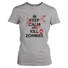 Women's Bloody Zombie T-Shirt Scary Halloween Call Dead Duty Fear... ($18) ❤ liked on Polyvore featuring tops, t-shirts, black, women's clothing, black top, evening tops, slim tee, black checkered shirt and slim shirt