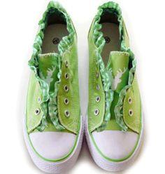 PantoffelDIVA, Damen Sneaker, Low Top, pfiffiger Trachtenschuh für Dirndl und Lederhose mit Edelweiß, Strass, Hirsch(36, Kiwi) PantoffelDIVA,http://www.amazon.de/dp/B00BRLLNOI/ref=cm_sw_r_pi_dp_scVGtb027JA3QYJF
