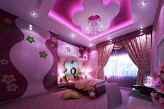 Ooo Lord This Girlz Bedroom Is Absolutely Into The Future Stylish As Wickedly Cl