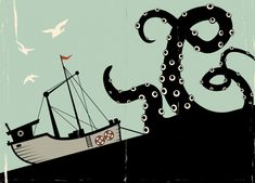 There once was a time when uttering the name Kraken sent chills down a mariner's spine. The legendary beast was known for dragging whole ships down into the watery depths of Davy Jones's Locker. Today we see the monster largely as fiction, but that doesn't mean it doesn't have ties to reality.
