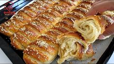 Real Food Recipes, Baking Recipes, Yummy Food, Turkish Baklava, Tea Loaf, Artisan Bread Recipes, Bread Cake, Easy Bread, Great Desserts