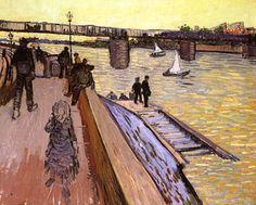 Le Pont de Trinquetaille. 1888. Huile sur toile, 64 x 80 cm