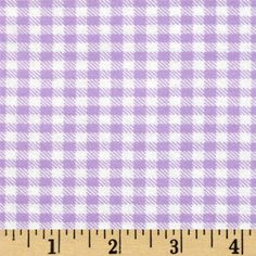 Aunt Polly's Flannel Gingham Purple