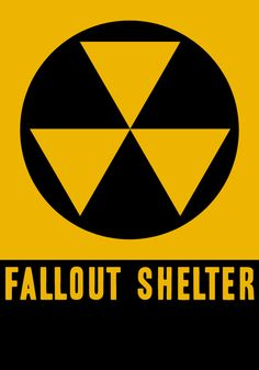 """As typical in the 1950s and 60s as """"Safe Place"""" signs are today -- on schools, firehouses, libraries, etc. A couple of high school friends lived in houses built between 1957 and 1960 with state of the art bomb shelters in the backyard."""