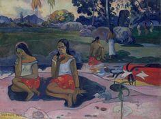 Paul Gauguin, Nave Nave Moe. Heerlijke bron (Zoete visioenen) / Nave Nave Moe. Sacred Spring (Sweet Reveries), 1894 (detail) © State Hermitage Museum, St Petersburg